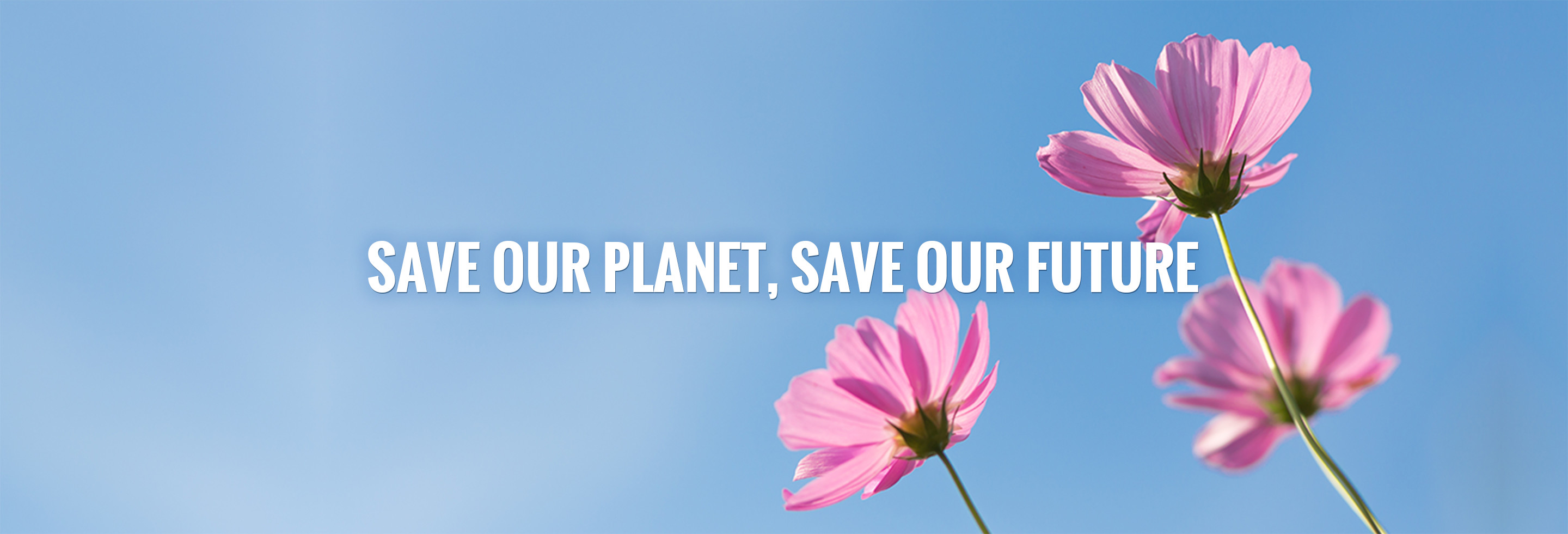 SAVE OUR PLANET, SAVE OUR FUTURE